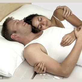 Simply cuddling in bed