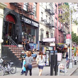 NYC's East Village.