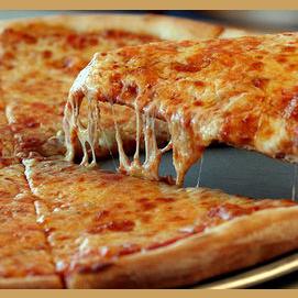 Una pizza al día... ¡Es pura alegría!