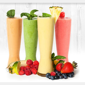 Smoothies! They're tasty and nutritious!