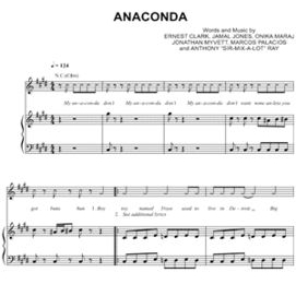 """Anaconda"" - Nicki Minaj"
