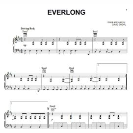 """Everlong"" - Foo Fighters"