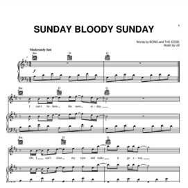 """Sunday Bloody Sunday"" - U2"