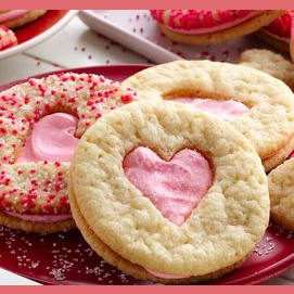 My favorite fresh baked cookies with a sweet card