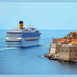 A high-end mediterranean cruise