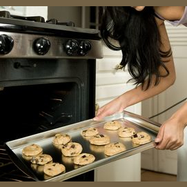 Baking cookies for your loved one