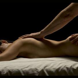 A sensual massage