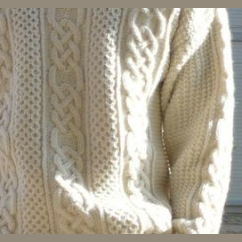 A sweater knit by your loved one