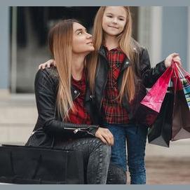 Shopping and mani-pedis