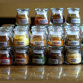 Kitchen spices