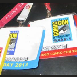 Comic Con Badge