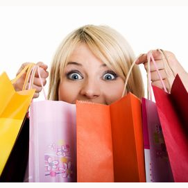 Spend it all shopping!