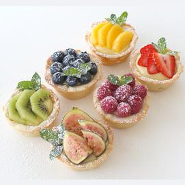 A few mini tarts