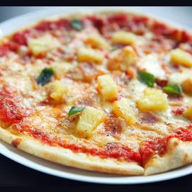Ham and pineapple
