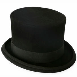 A stylish top hat
