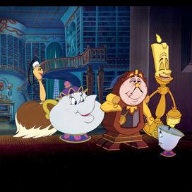 Castle servants