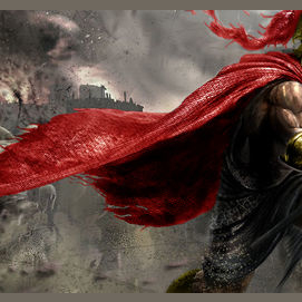 Blood Red Cape
