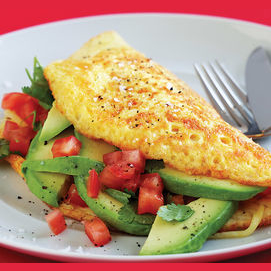 Cook them a hearty omelet