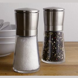 Um, salt and pepper?