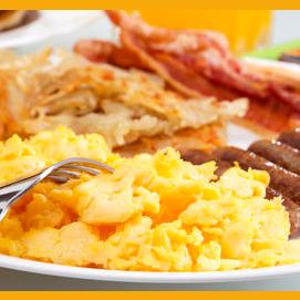 Cook the classic scrambled eggs breakfast