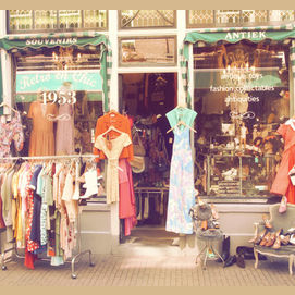 A Vintage or Second-Hand Shop