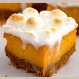 Sweet Potato Marshmallow Bars