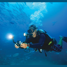 By using your GoPro for those  underwater shots