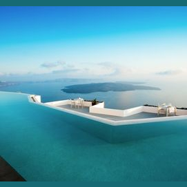 Blue & floaty?