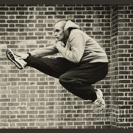Kick the air