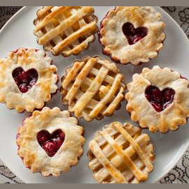 A few mini pies