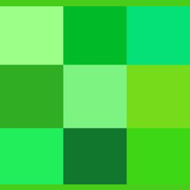 Green like plants