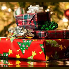 Presents, duh!