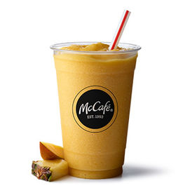 McCafé Mango Pineapple Smoothie
