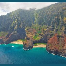 Honopu Beach, Hawaii