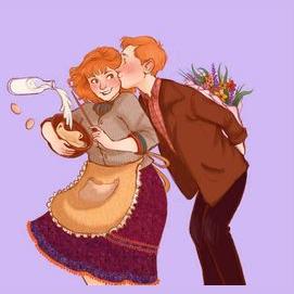 Ron's: Arthur and Molly