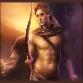 Apollo, God of the Sun.
