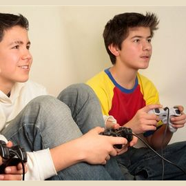Playing videogames