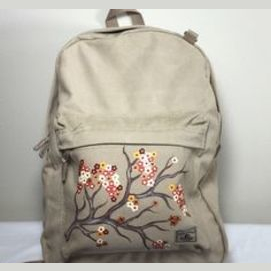Hand-painted backpack