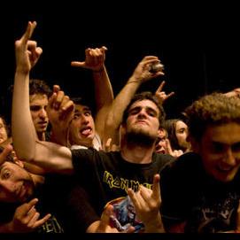 I'd rather be at a concert, headbanging until my neck breaks!