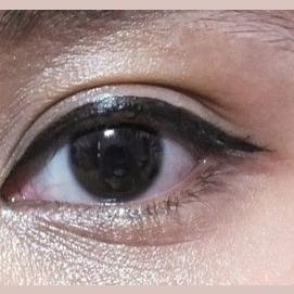 Dark Brown/Black Eyes
