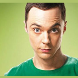 Sheldon Cooper from the Big Bang Theory