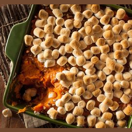 Marshmallow Sweet Potato Casserole