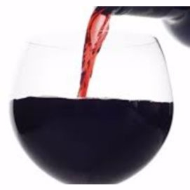 Red wine - just a glass