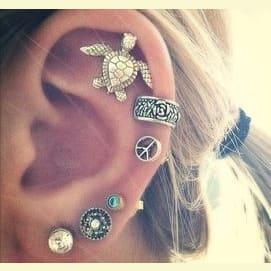 Ear rings!