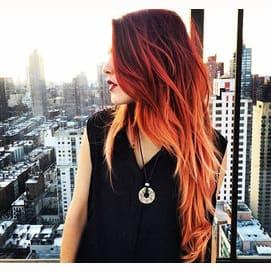 Ginger/red