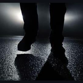 Someone walking
