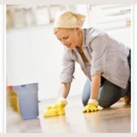 Throw it away, then clean up the floor!