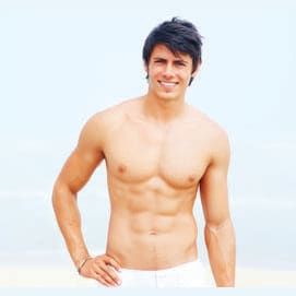 Great reason to take the shirt off...and show off your hot bod