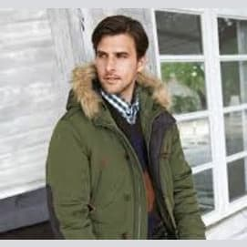 A heavy parka and hiking boots