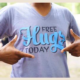A kooky slogan t-shirt